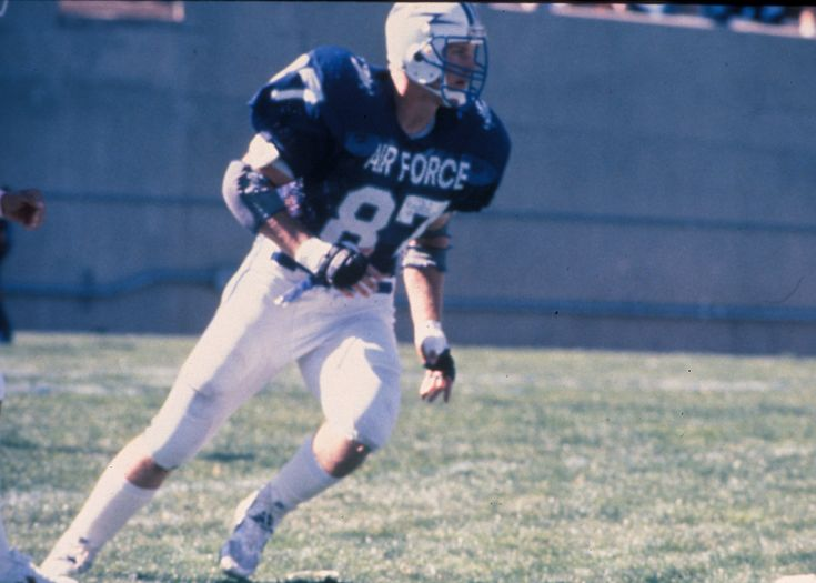 Former Air Force And Dallas Cowboys Standout Chad Hennings Football