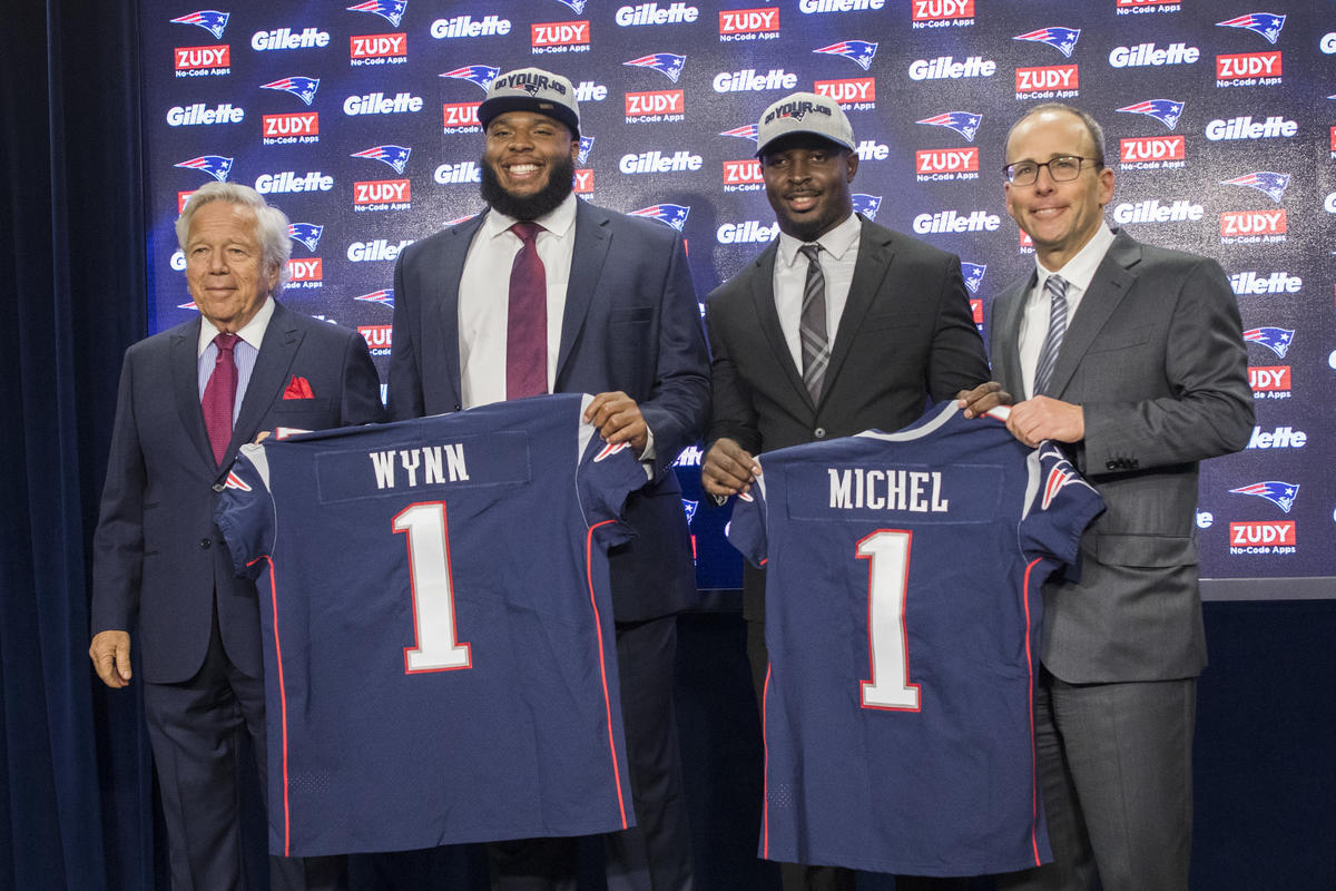 info for e87f5 96f2b See how National Team alum Isaiah Wynn made Bill Belichick smile