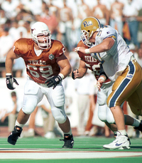 Dan Neil playing for Texas