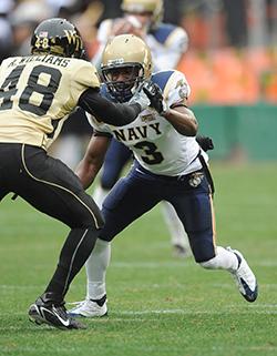 Iwuji playing football