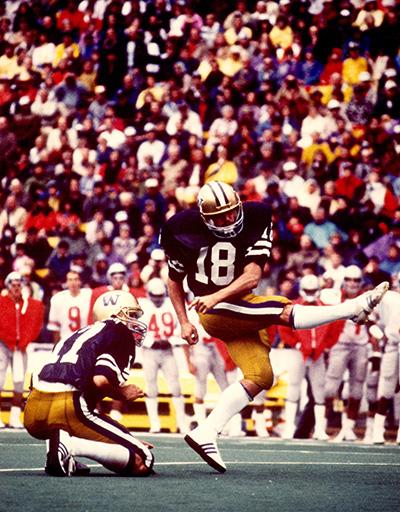 Jeff Jaeger 1986 against Ohio State