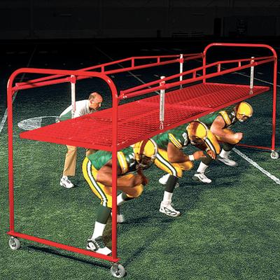Gilman football chute