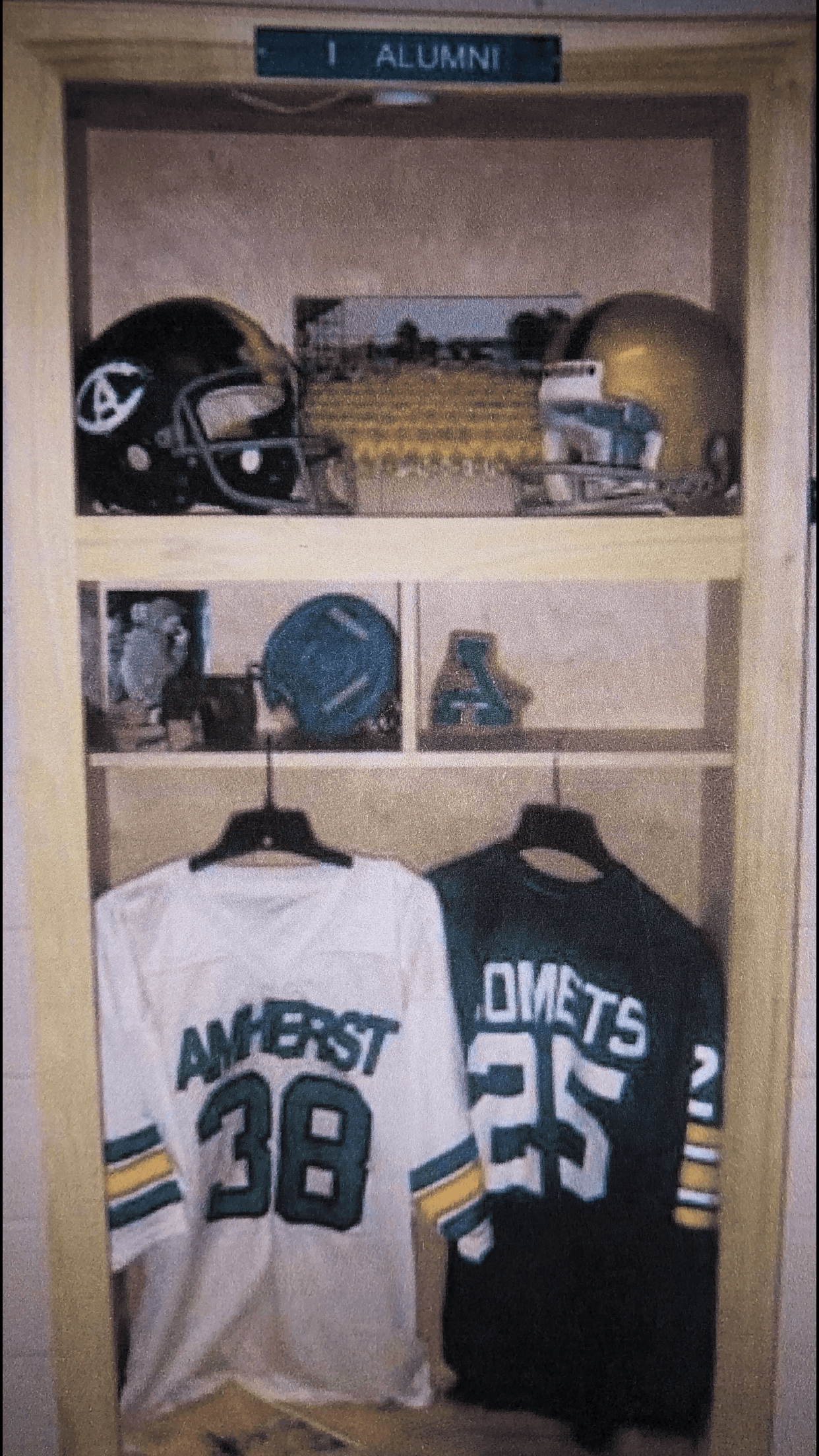 Alumni Lockers