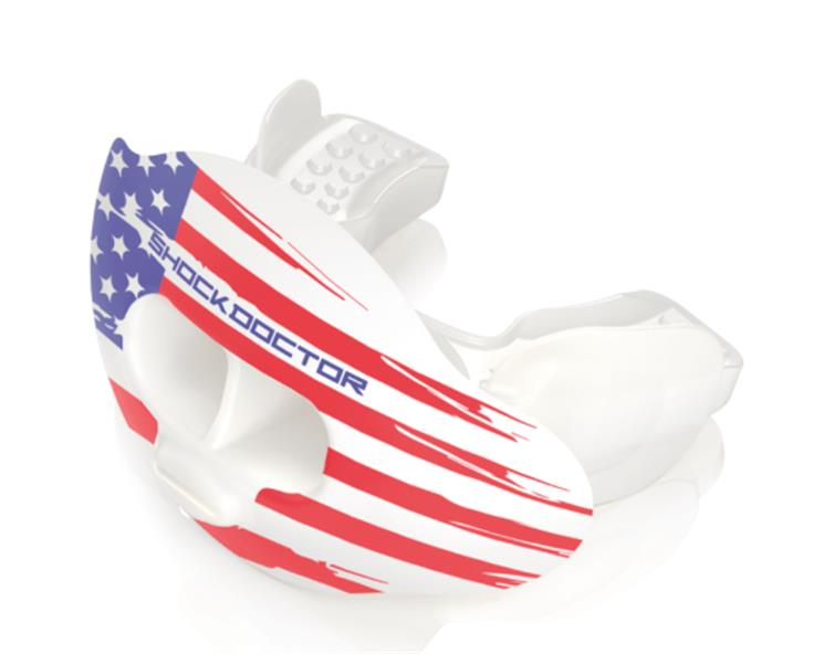 Shock Doctor American flag mouthguard