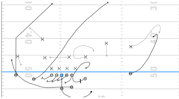 Oklahoma passing play