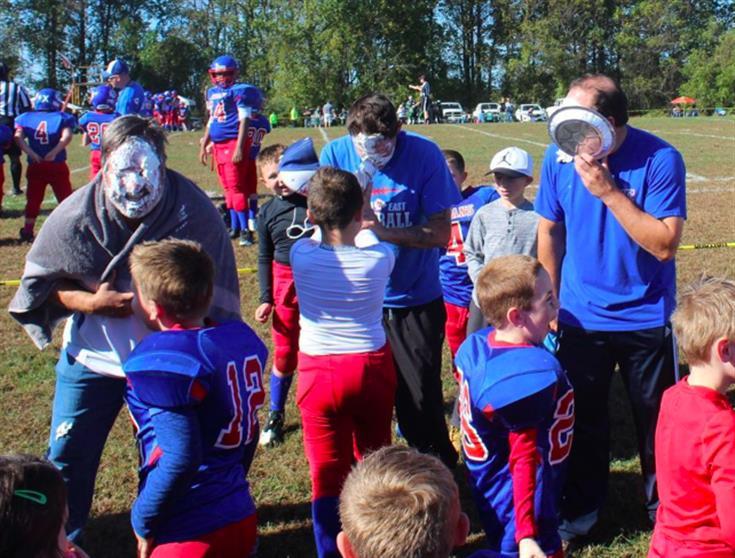 Football team fundraiser