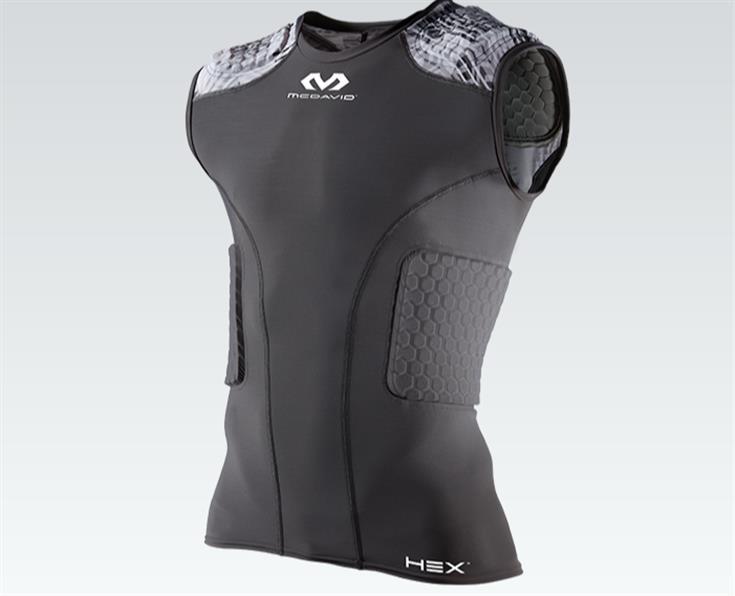 McDavid rib protecting vest