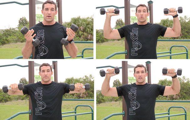 Shoulder rotation exercise