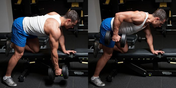 One-arm rows