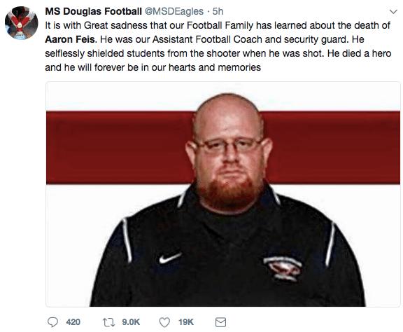 Aaron Feiss Douglas High School