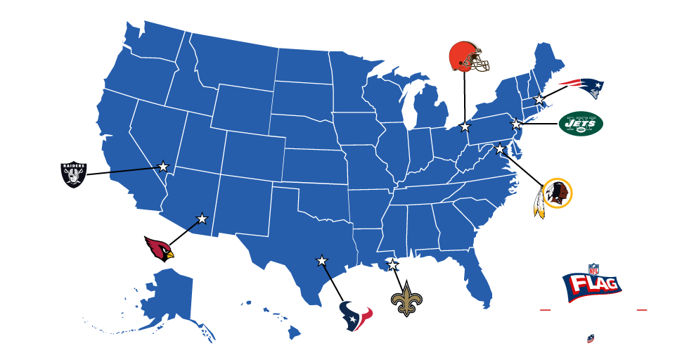 NFL FLAG Football Map Of All The Nfl Teams on map of all the countries, map of all major league baseball teams, map of all mls teams, map of all college teams, map of all the nba, map of all nhl teams, map of all the rivers, map of all the us presidents, map of all the oceans, map of all the states, map of all mlb teams, map of all sports teams, map of all football teams, map of all cfl teams,